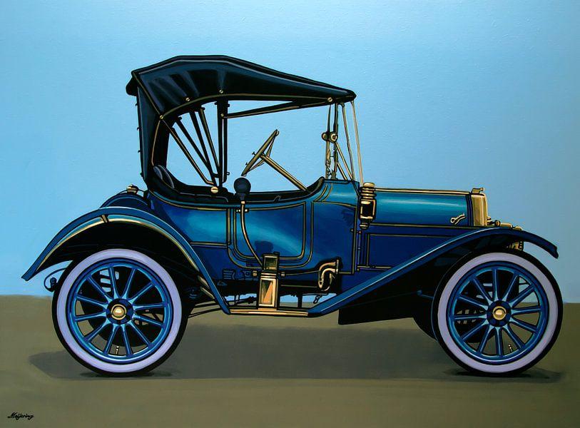 Overland 1911 Schilderij