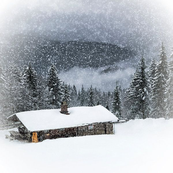 Bavarian Winter's Tale II van Melanie Viola