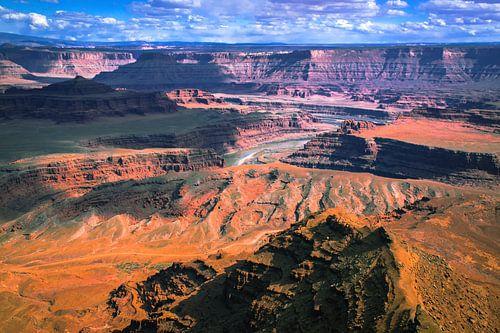 Green river in Canyonlands, VS van Rietje Bulthuis