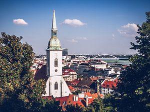 Bratislava - Sint Maartenskathedraal van Alexander Voss