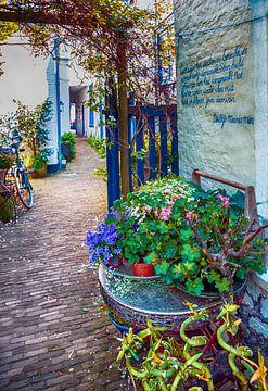 zomer straat van Ariadna de Raadt