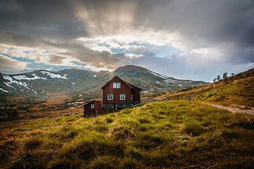 Huis in de bergen van