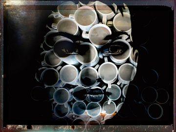 Cups of coffee in mind van Gabi Hampe