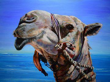 kameel ...schip der woestijn van Janny Schilderink