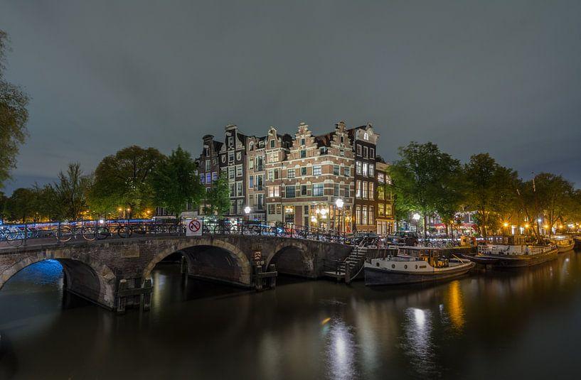 de Papiermolensluis  in  Amsterdam van Kevin Boelhouwer