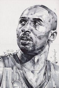 Kobe Bryant, L.A. Dessin des Lakers sur Jos Hoppenbrouwers