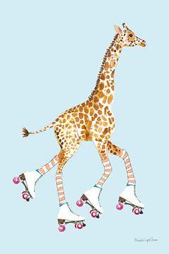 Giraffe Joy Ride II, Mercedes Lopez Charro van Wild Apple