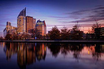 avond valt over Den Haag  sur gaps photography