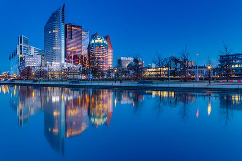 Den Haag Skyline van Tom Roeleveld