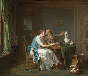 De tekenles, Louis Moritz van