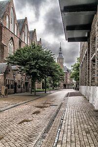 centrum Groningen Martinikerkhof van