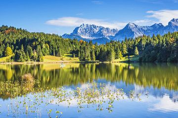 Het Geroldmeer in de herfst