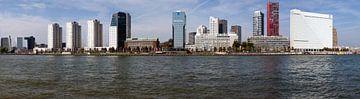 Panorama foto van moderne stads architectuur van Maurice de vries