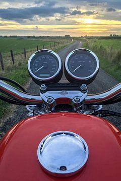 Motorradfahren von Pierre Verhoeven