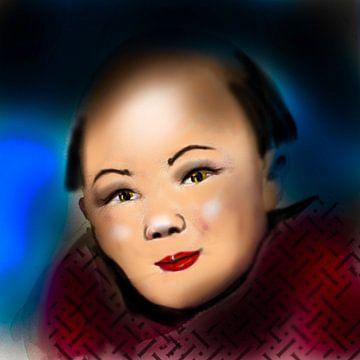 Jongen Chinees van Raina Versluis