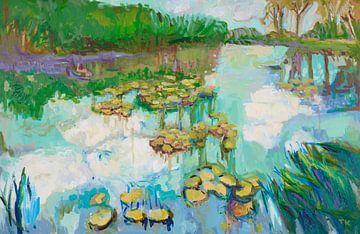 Wasserspiegelung von Tanja Koelemij