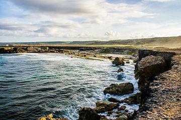 Noordkust van Curacao van Joke Van Eeghem