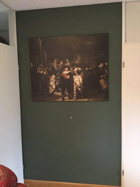 Kundenfoto: Die Nachtwache, Rembrandt van Rijn von Rembrandt van Rijn, auf leinwand