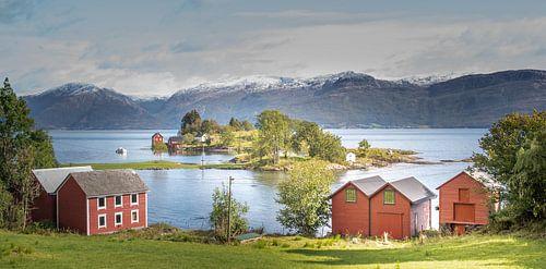 Noorwegen, house with a view