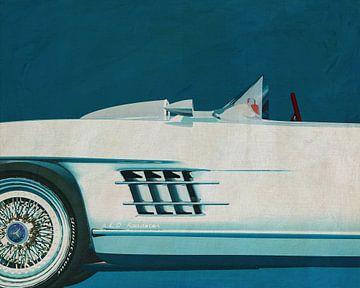 Mercedes 300SL Daytona concept roadster