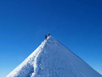 Gipfelgrat am Berg Castor von