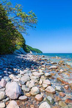 Steine an der Ostseeküste auf der Insel Rügen von Rico Ködder
