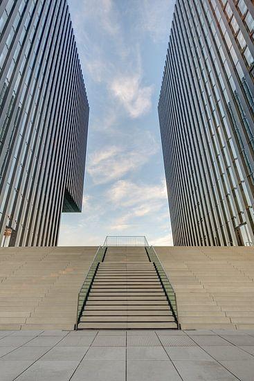 Moderne architectuur in Düsseldorf
