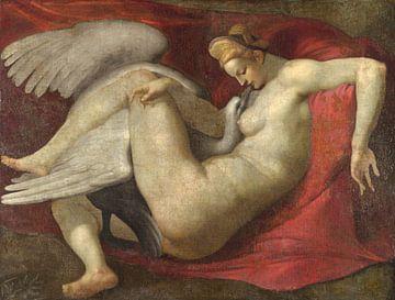 Leda und der Schwan, nach Michelangelo