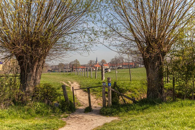 Wandelen  rond Mechelen in Zuid-Limburg van John Kreukniet