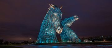 De Kelpies, Scotland van Hans Kool