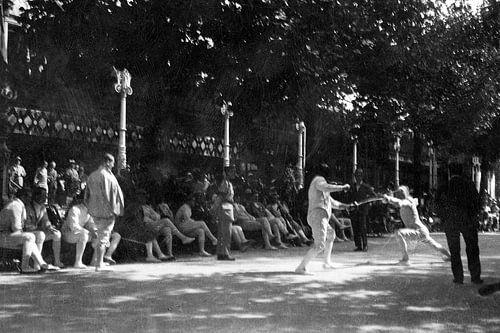 Fechten Frankreich 1920er Jahre von