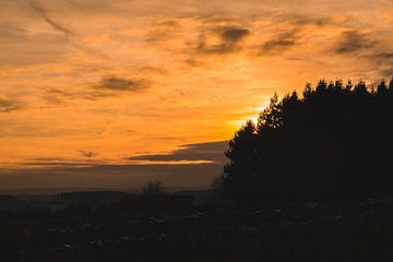 Vredige zonsondergang von Nynke Nicolai