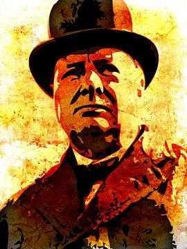 Winston Churchill van Maarten Knops