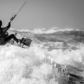 Kitesurfer van Reinier Snijders