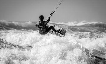 Kitesurfing sur Reinier Snijders