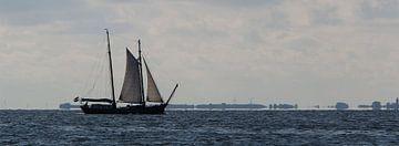YE 47 op Waddenzee sur