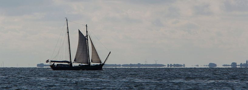 YE 47 op Waddenzee van Sybrand Treffers