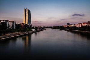 ECB in Frankfurt van
