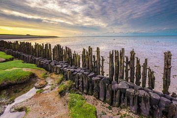 Schlammloch Friesisches Wattenmeer Küste von Mario Brussé