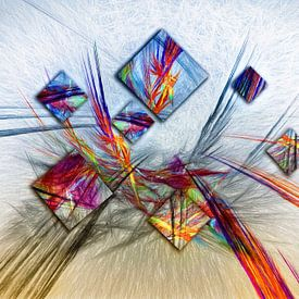 abstrakt van Dagmar Marina