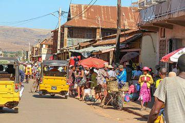straatbeeld Madagskar van Marieke Funke