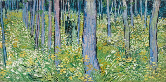 Vincent van Gogh. Twee figuren in kreupelhout