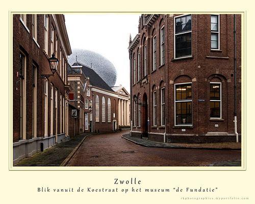 Zwolle, blik op de undatie van