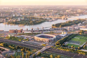 Luchtfoto Stadion Feyenoord - De Kuip van