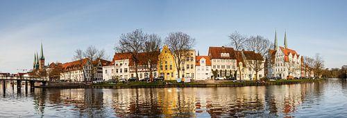 Malerviertel Lübeck van Werner Reins