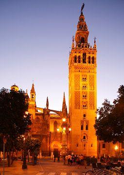 Sevilla : Kathedrale mit Giralda