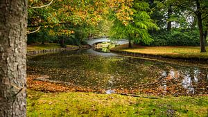 Herfst in het Paleispark van  't Loo bij Apeldoorn
