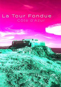 La Tour Fondue - Côte d'Azur von Birgit Wagner