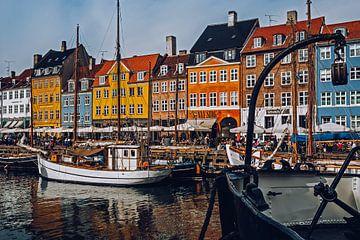 Kopenhagen - Nyhavn van Alexander Voss