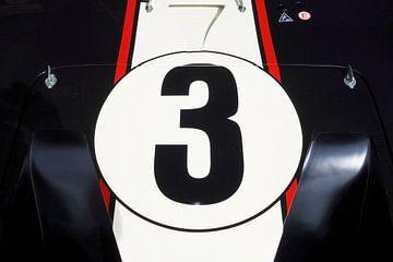 Racenummer drie van Theodor Decker
